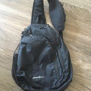 Eddie Bauer black sling bag